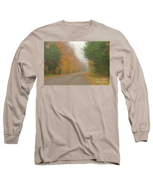Autumn Roads Long Sleeve T-Shirt