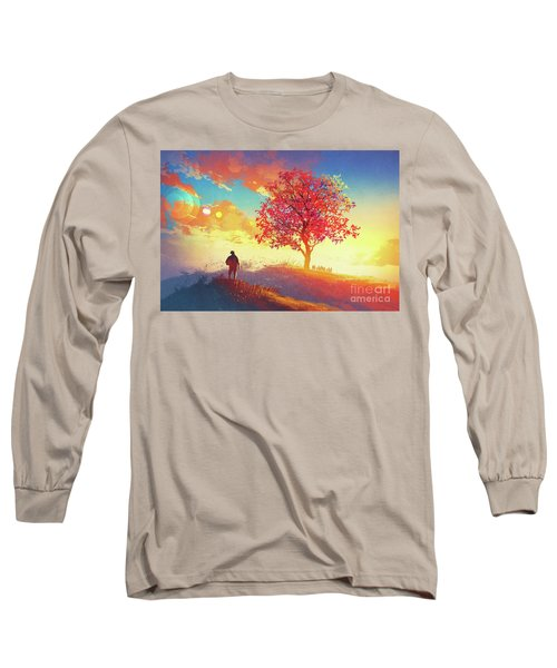 Autumn Sunrise Long Sleeve T-Shirt