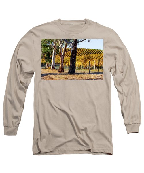 Long Sleeve T-Shirt featuring the photograph Autumn Vines by Bill Robinson