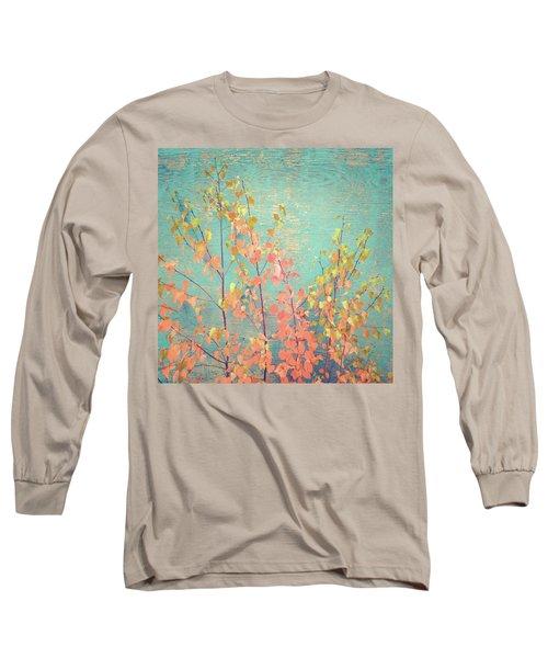 Long Sleeve T-Shirt featuring the photograph Autumn Wall by Ari Salmela