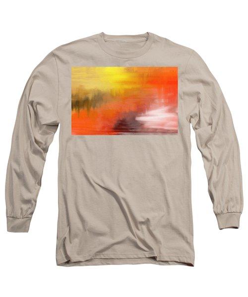 Autumnal Abstract  Long Sleeve T-Shirt