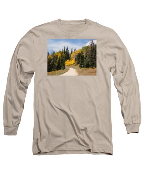 Autumnal Forest-dixie National Forest Utah Long Sleeve T-Shirt