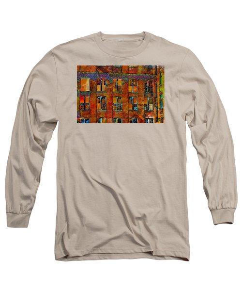Avant-garde Building Long Sleeve T-Shirt
