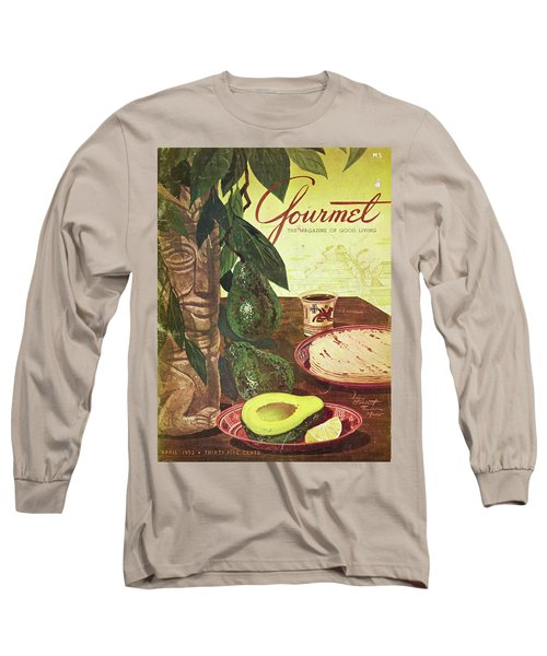 Avocado And Tortillas Long Sleeve T-Shirt
