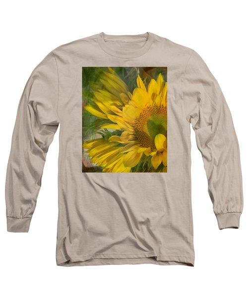 Awash In Sun Long Sleeve T-Shirt by Arlene Carmel