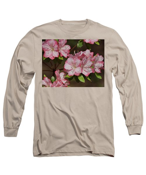 Long Sleeve T-Shirt featuring the photograph Azalea by Sandy Keeton