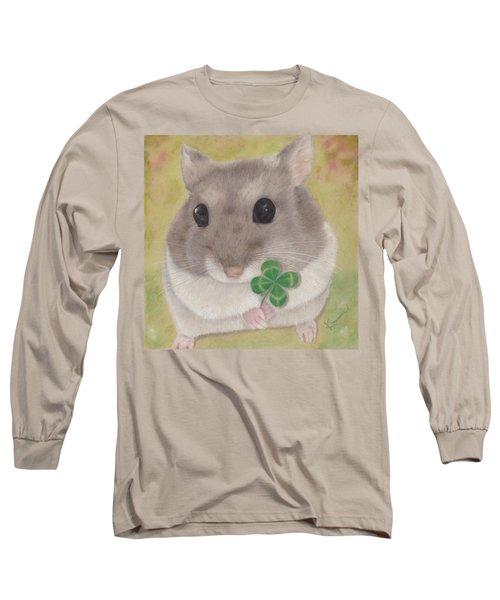 Azuki And A Four-leaf Clover Long Sleeve T-Shirt