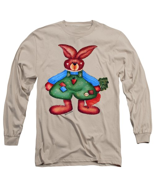 B Is 4bunny Long Sleeve T-Shirt by Tami Dalton