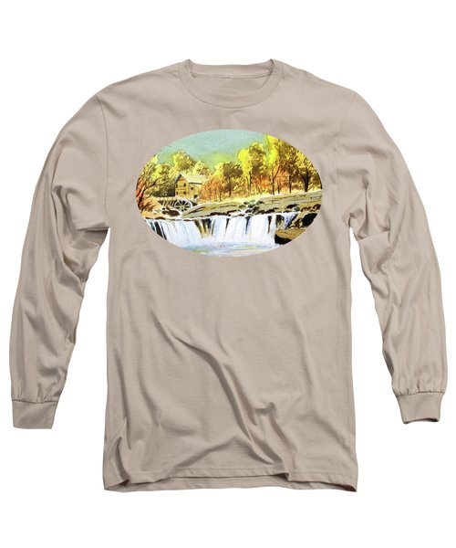 Babcock State Park West Virginia Long Sleeve T-Shirt by Bill Holkham