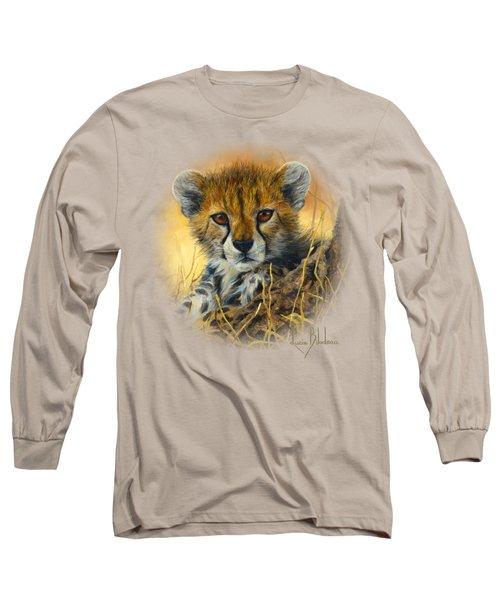 Baby Cheetah  Long Sleeve T-Shirt