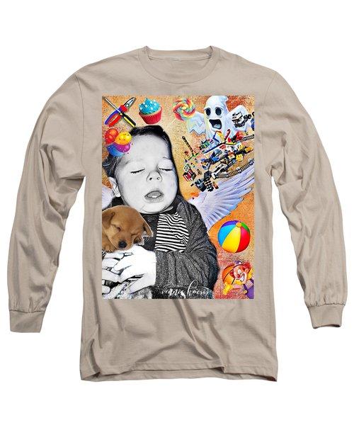 Baby Dreams Long Sleeve T-Shirt by Vennie Kocsis