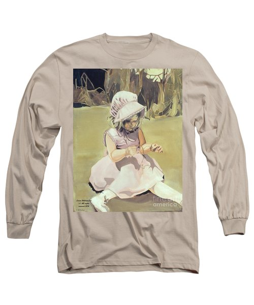 Baby Girl Discovering Long Sleeve T-Shirt