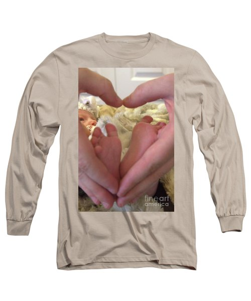 Baby Toes Long Sleeve T-Shirt