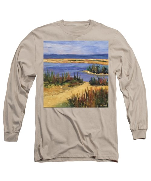Back Bay Beach Long Sleeve T-Shirt