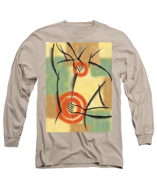 Back Pain Long Sleeve T-Shirt