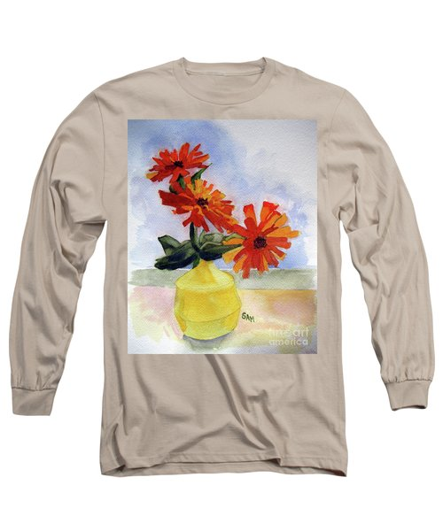 Back To Basics Long Sleeve T-Shirt by Sandy McIntire