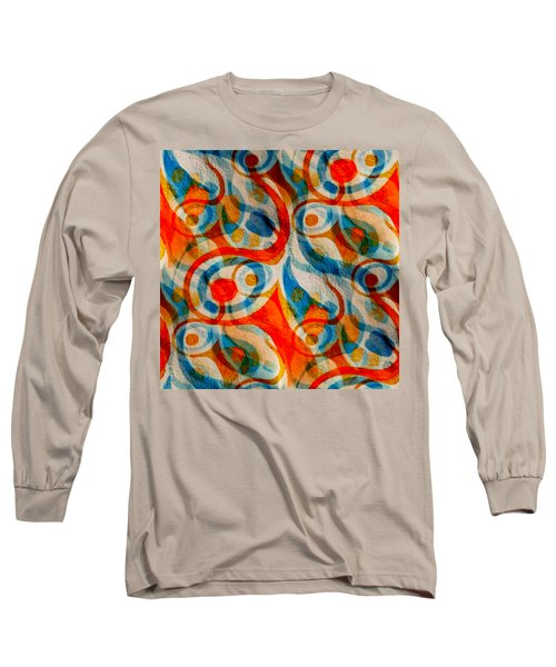 Background Choice Coffee Time Abstract Long Sleeve T-Shirt