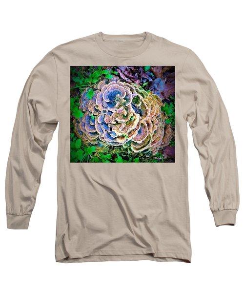 Backyard Mushroom  Long Sleeve T-Shirt
