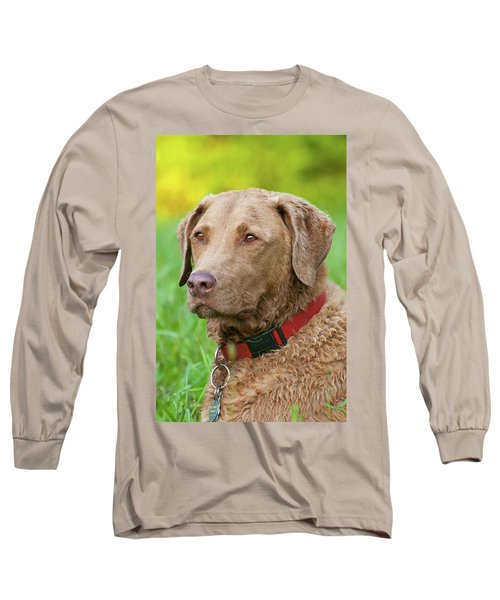 Long Sleeve T-Shirt featuring the photograph Bailee 1149 by Guy Whiteley