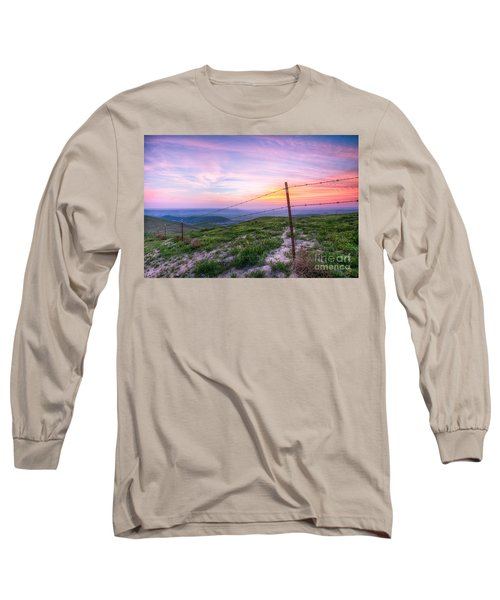 Bakersfield Hills  Long Sleeve T-Shirt