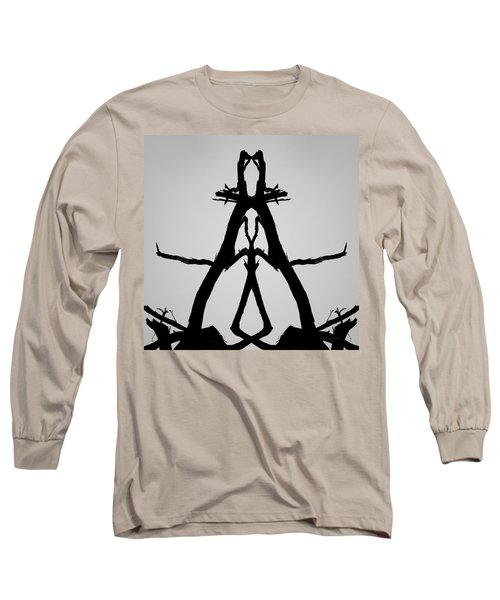 Long Sleeve T-Shirt featuring the photograph Balanced I Bw by David Gordon