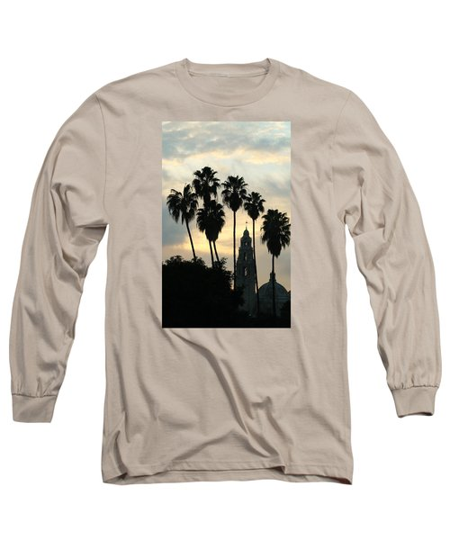 Balboa Park Museum Of Man Long Sleeve T-Shirt by Christopher Woods