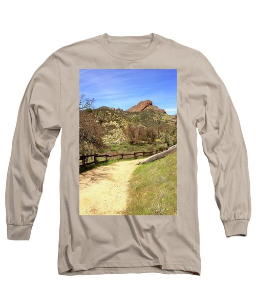 Long Sleeve T-Shirt featuring the photograph Balconies Trail - Pinnacles National Park by Art Block Collections