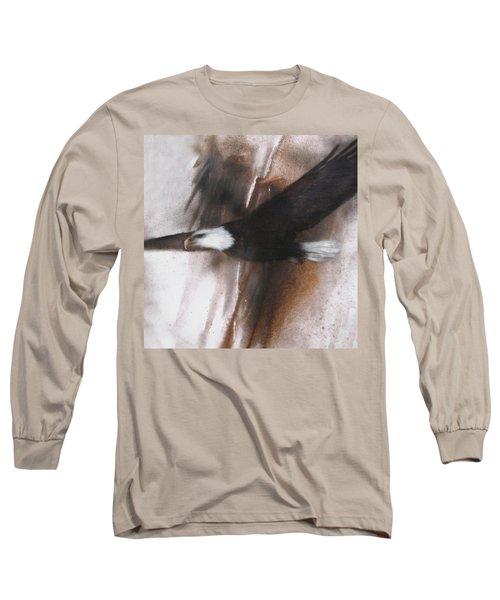 Bald Eagle Flight Long Sleeve T-Shirt