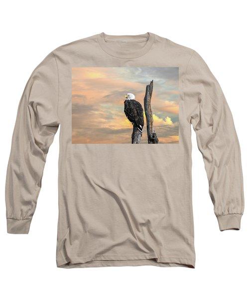 Bald Eagle Inspiration Long Sleeve T-Shirt