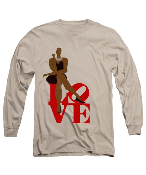 Bald Sitting On Love Long Sleeve T-Shirt