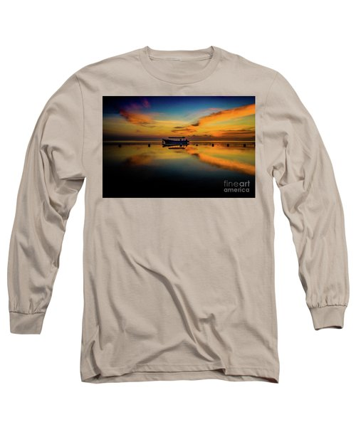 Bali Sunrise 3 Long Sleeve T-Shirt