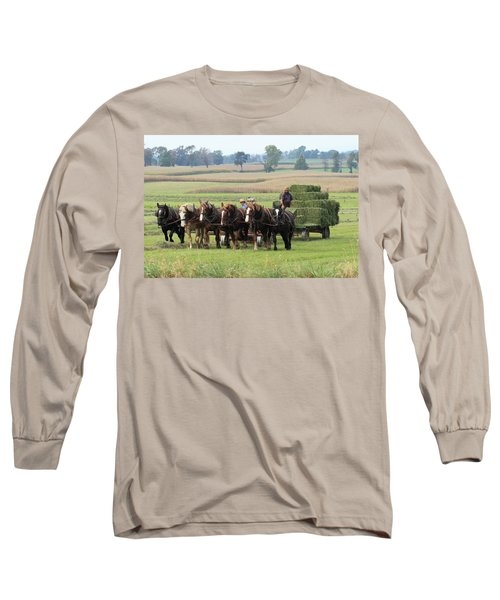 Baling The Hay Long Sleeve T-Shirt
