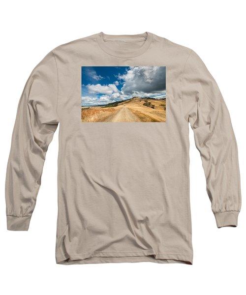 Ball Hills In Summer 3 Long Sleeve T-Shirt by Greg Nyquist