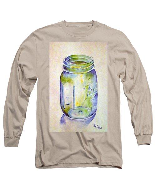 Ball Mason Jar Long Sleeve T-Shirt