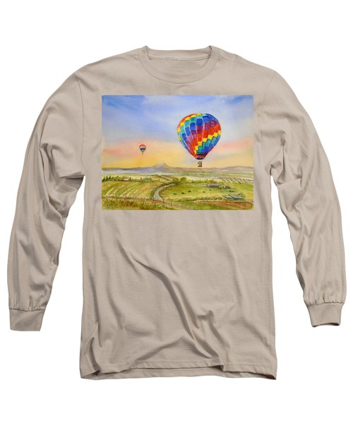 Balloons Over Mcminnville Long Sleeve T-Shirt