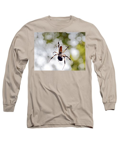 Banana Spider Lunch Time 2 Long Sleeve T-Shirt