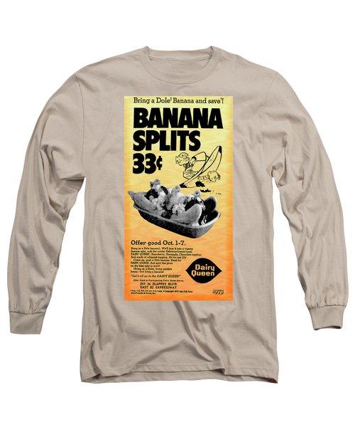 Banana Split Advertising 1973 Long Sleeve T-Shirt