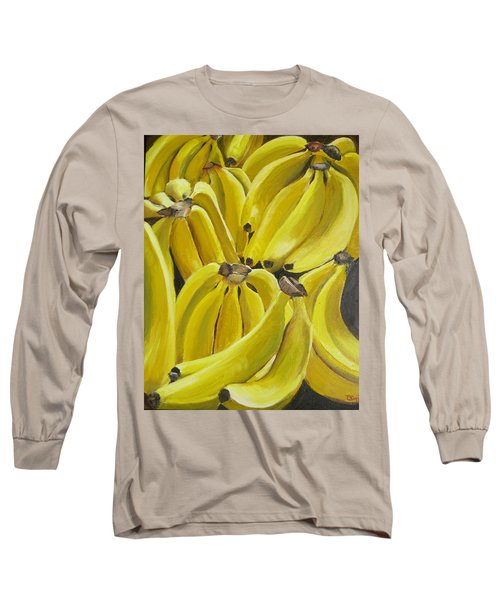 Bananas Long Sleeve T-Shirt