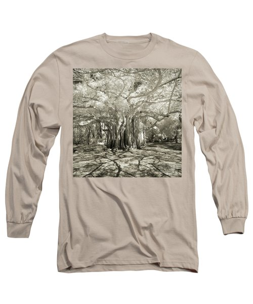 Banyan Strangler Fig Tree Long Sleeve T-Shirt