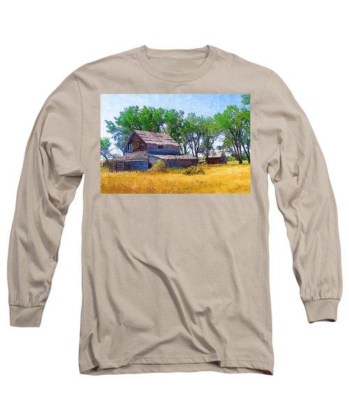 Barber Homestead Long Sleeve T-Shirt