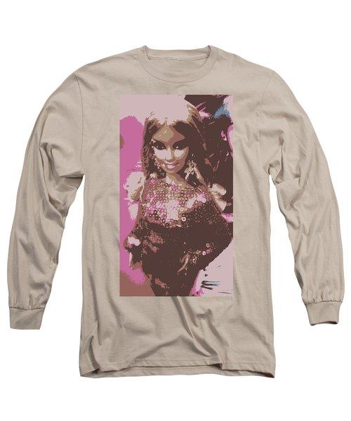 Barbie Sparkle Long Sleeve T-Shirt by Karen J Shine