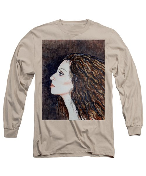 Barbra Streisand Long Sleeve T-Shirt