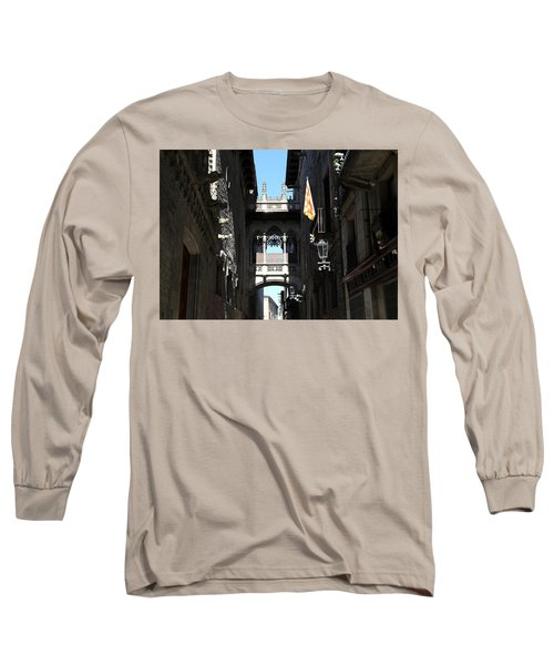 Long Sleeve T-Shirt featuring the photograph Barcelona 1 by Andrew Fare