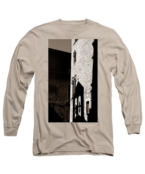Long Sleeve T-Shirt featuring the photograph Barcelona 2b by Andrew Fare