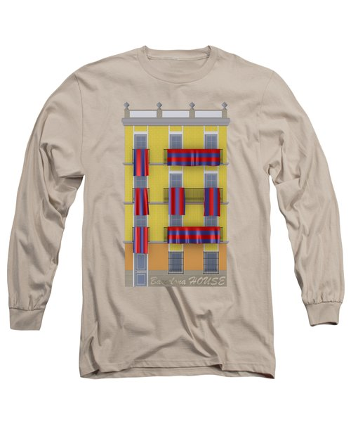 Barcelona House Long Sleeve T-Shirt