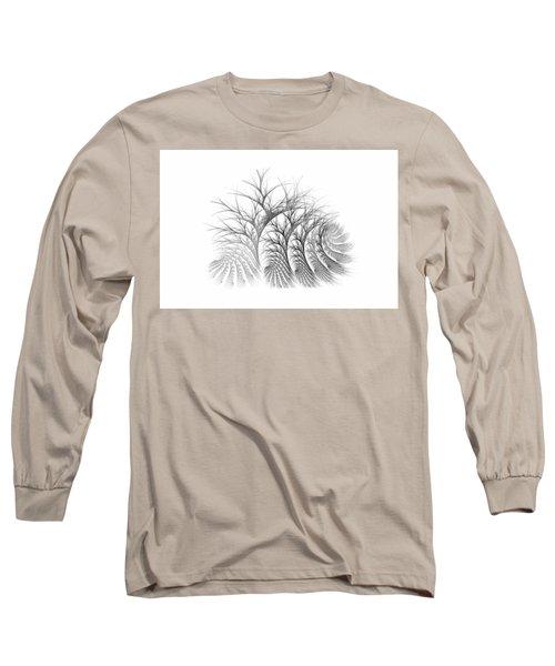 Bare Trees Daylight Long Sleeve T-Shirt