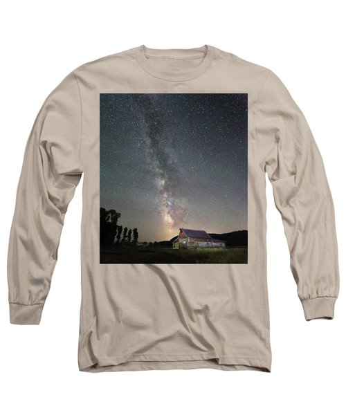 Barn On Mormon Row  Long Sleeve T-Shirt