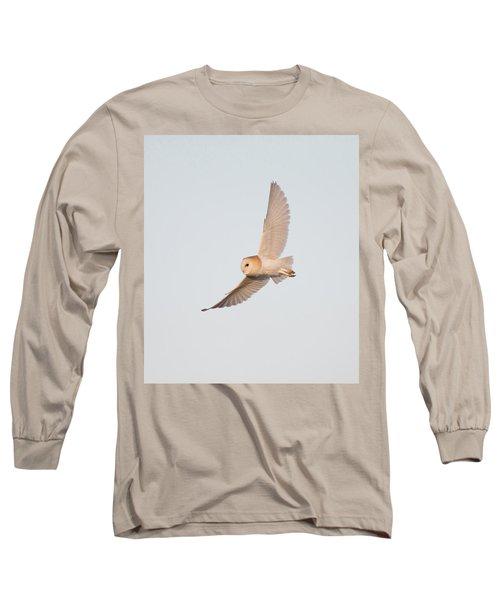 Barn Owl Hunting Long Sleeve T-Shirt