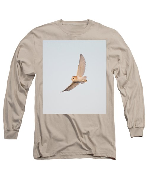 Barn Owl Hunting Long Sleeve T-Shirt