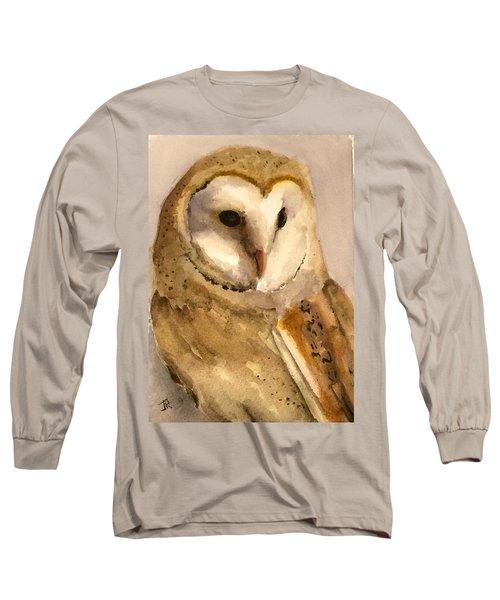 Barn Owl Long Sleeve T-Shirt